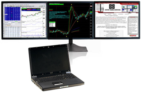 Trading system computers